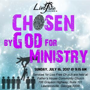 Chosen by God for Ministry