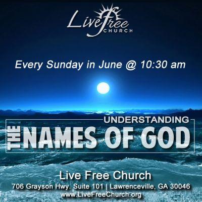 Understanding the Names of God