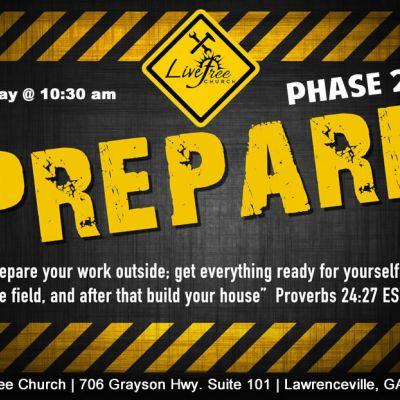 Prepare - Phase 2